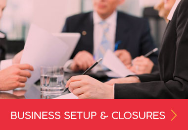 Business Registration and Closures